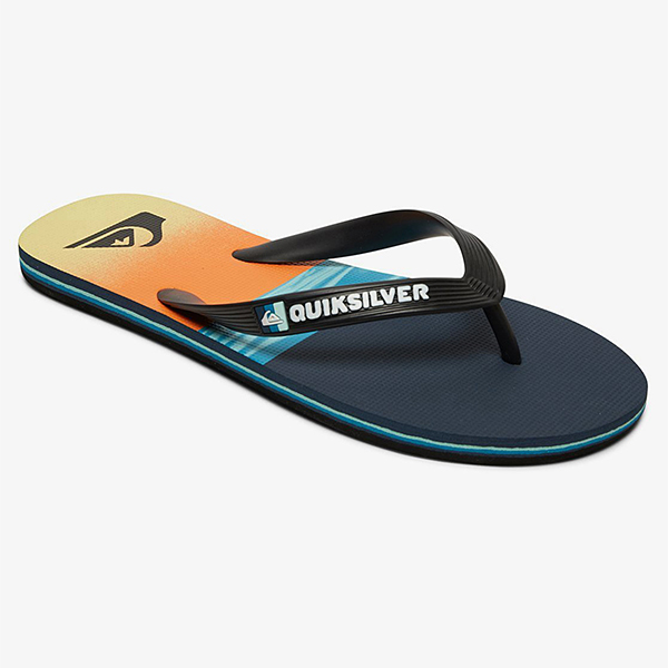 Шлепанцы QUIKSILVER Molo Hold Down M